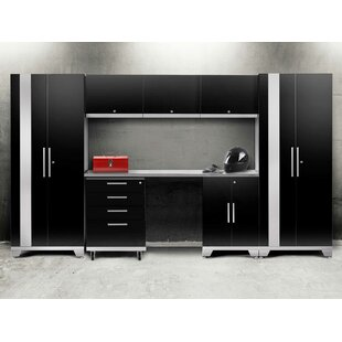 Performance 2.0 8 Piece Storage Cabinet Set by NewAge Products