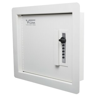 Quick Vault Wall Safe 0.2 CuFt by V-Line Industries
