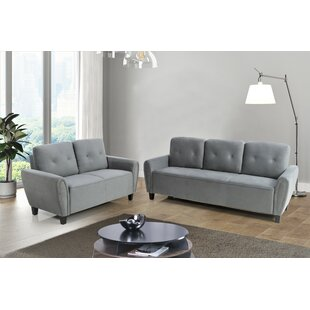 Online Reviews Murrill 2 Piece Living Room Set by Wrought Studio Reviews (2019) & Buyer's Guide