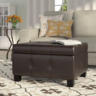 Darby Home Co Dubois Storage Ottoman