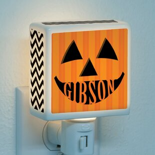 CPS Pumpkin Face Personalized Night Light