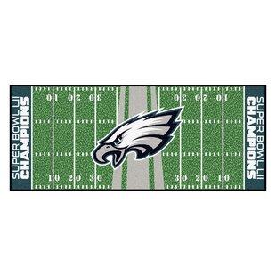 Philadelphia Eagles Football Field Runner Doormat ByFANMATS