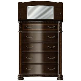 Astoria Grand Redbud Bedroom 5 Drawer Chest