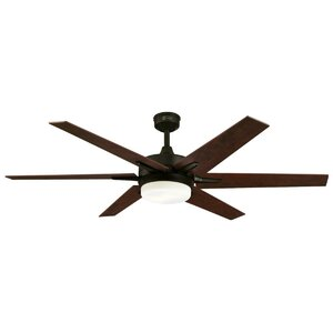 60″ Cayuga 6 Blade Ceiling Fan with Remote
