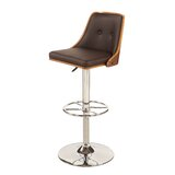 Mclellan Adjustable Height Swivel Bar Stool by George Oliver
