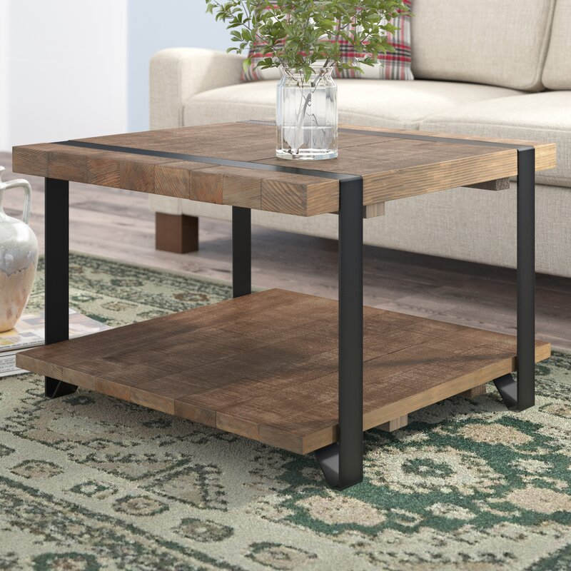 Tinley Coffee Table With Storage & Reviews Birch Lane