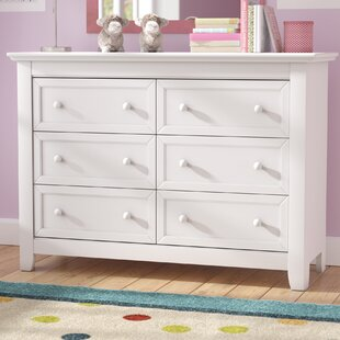 Plympton 6 Drawer Double Dresser by Three Posts