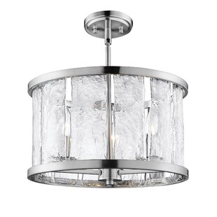 Breakwater Bay Fason 6-Light Semi-Flush Mount