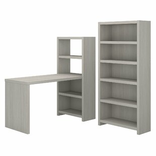 Echo Bookcase Desk Office Suite by Kathy Ireland Office by Bush