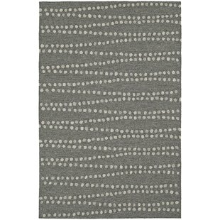 Inexpensive Amee Hand-Tufted Pewter Indoor/Outdoor Area Rug By Latitude Run