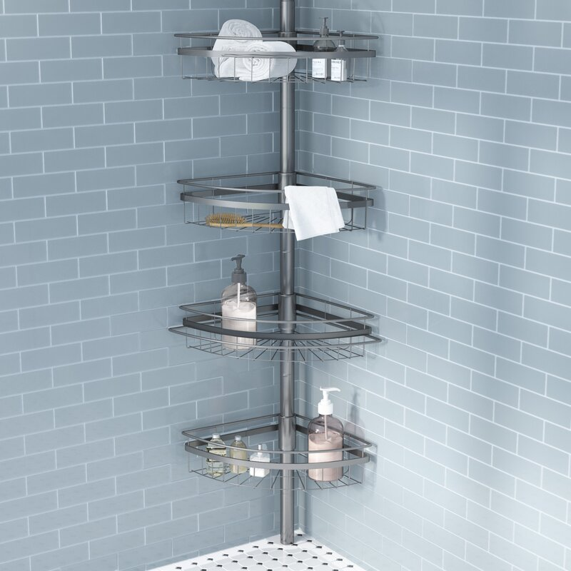Simple Merriwood Shower Caddy For Your House - Review wall mounted shower caddy Modern