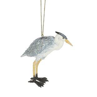 Blue Heron Hanging Figurine