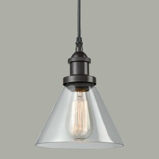 Shop for Mcquiston 1-Light Cone Pendant By Williston Forge