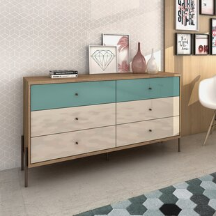 George Oliver Armando 6 Drawer Double Dresser