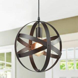 Windermere 1-Light Globe Pendant by Williston Forge