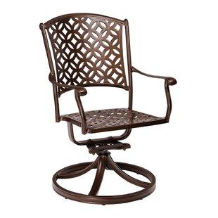 Casa Swivel Patio Dining Chair by Woodard Best