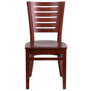 Ceja Solid Wood Dining Chair Winston Porter