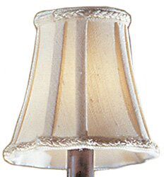Inexpensive 6 Fabric Bell Lamp Shade By Classic Lighting