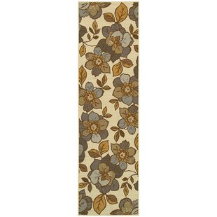 Reva Beige/Brown/Yellow Indoor/Outdoor Area Rug