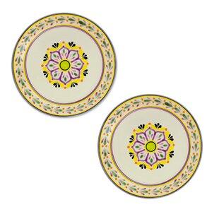 Mcmullan Lavender Majolica Dinner Plates (Set of 2)  sc 1 st  Wayfair & Majolica Plates | Wayfair