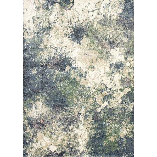 Novelle Home Dais Abstract Blue Green Beige Area Rug Reviews Wayfair