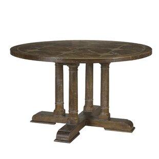 Gracie Oaks Lopp Calipso Solid Wood Dinin..