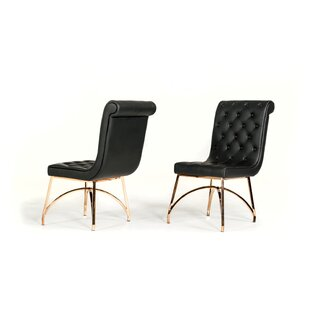 Clower Upholstered Dining Chair (Set of 2..