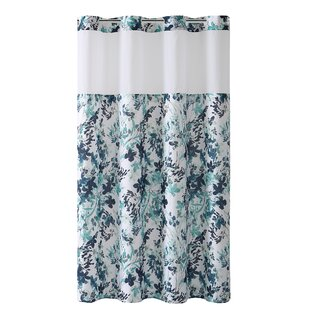 Pimentel Floral Single Shower Curtain