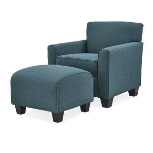 Buy luxury Armchair and Ottoman ByAlcott Hill