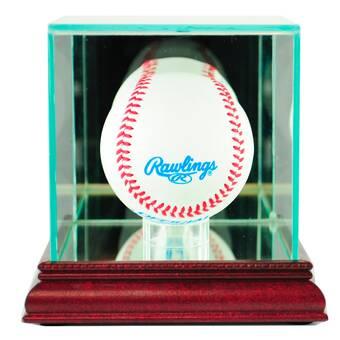 Lovely Utah Jazz Glass Basketball Display Case Logo On Court Background Display Cases Steiner Sports Mem, Cards & Fan Shop
