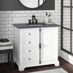 Read Reviews Ogallala Traditional 36 Single Cottage White Bathroom Vanity Set By Greyleigh