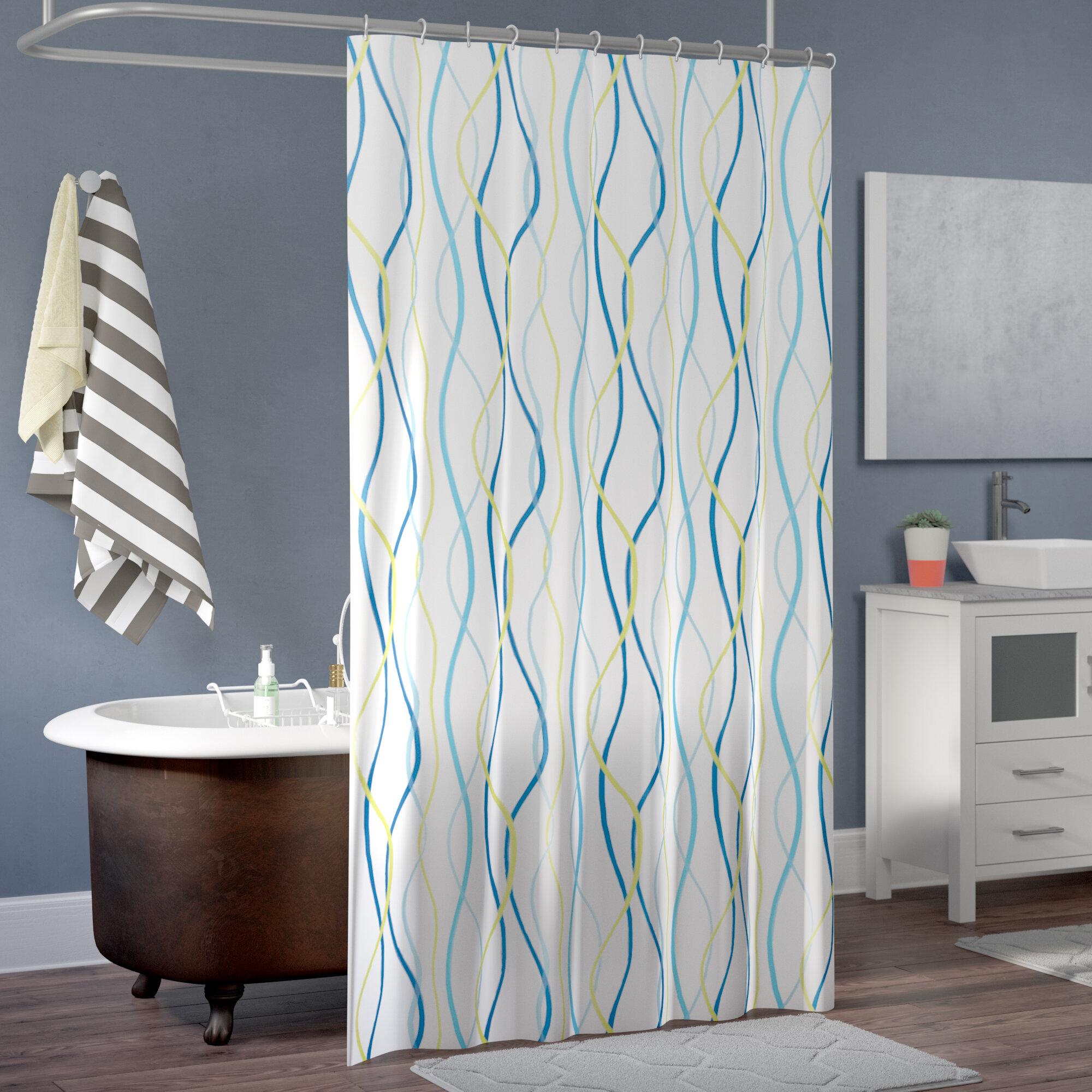Zipcode Design Wanda Shower Curtain & Reviews | Wayfair
