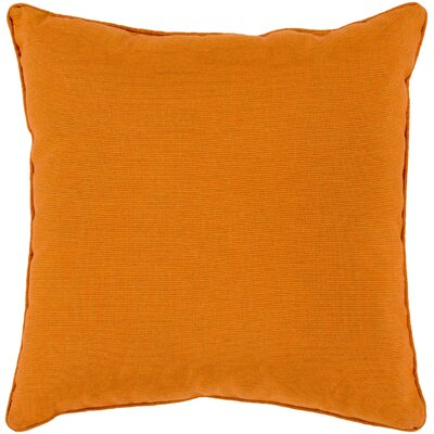 Brayden Studio Allen Park Outdoor Throw Pillow Size: 20 H x 20 W x 4 D, Color: Burnt Orange