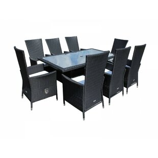 Copenhaver 8 Seater Dining Set With Cushions Image