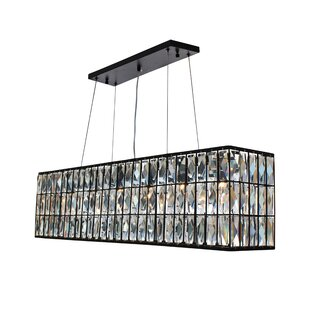 Jacques 6-Light Kitchen Island Pendant by Everly Quinn