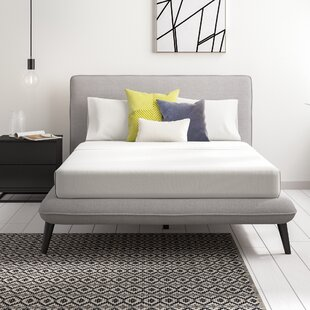 Beckham Upholstered Bed Frame With Mattress By Hykkon
