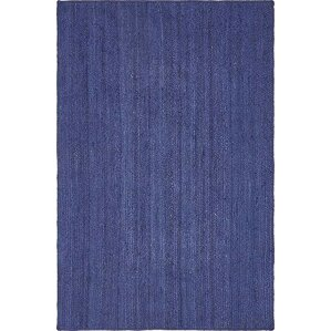 chapell handbraided navy blue area rug