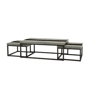 Cleavenger 3 Piece Coffee Table Set by 17 Stories