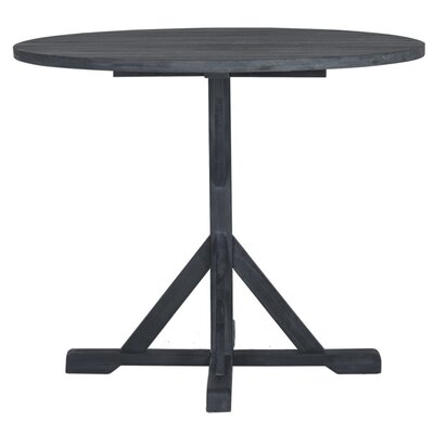 Babineaux Solid Wood Dining Table Color: Ash Gray by Darby Home Co