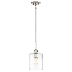 Friedman 1-Light Cylinder Pendant