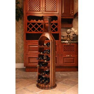 Gumm Wooden 18 Bottle Floor Wine Rack