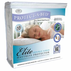 Elite Double-Sided Fitted Hypoallergenic Waterproof Mattress Protector by Protect-A-Bed