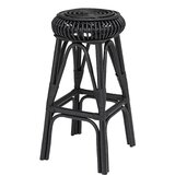Tapia Handwoven Rattan 28 Bar Stool by Bayou Breeze