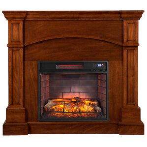Murphy Corner Electric Fireplace by Alcott Hill