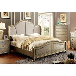 Adams Upholstered Platform Bed by A&J Homes Studio