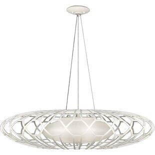 Allegretto Gold 3-Light Chandelier by Fine Art Lamps