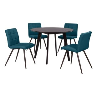 Elena 5 Piece Dining Set by Wrought Studio