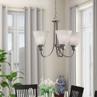 Hartford 5-Light Shaded Chandelier by Charlton Home