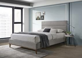 Midtown Double (4'6) Upholstered Bed Frame By Mercury Row
