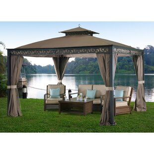 Webberly 10 Ft. W x 12 Ft. D Metal Patio Gazebo by Sunjoy